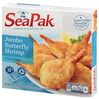 SeaPak Jumbo Butterfly Shrimp, 9 oz - Water Butlers