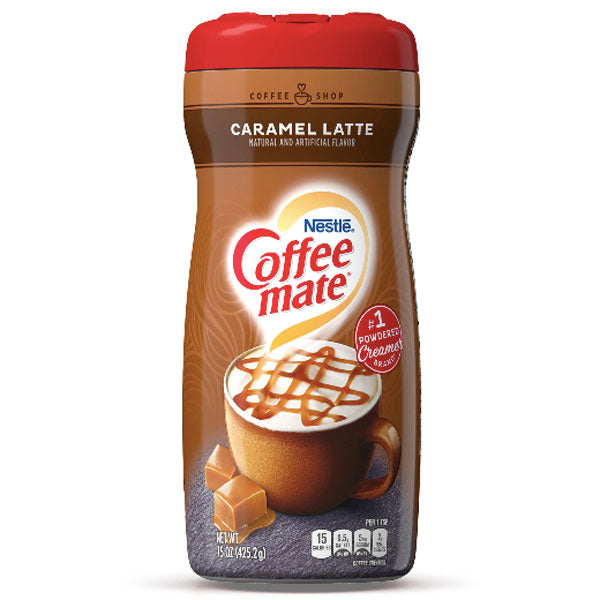 Coffee Mate Caramel Latte Coffee Creamer, 15 fl oz - Water Butlers