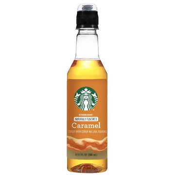 Starbucks Caramel Coffee Syrup Bottle 12.17 fl. oz