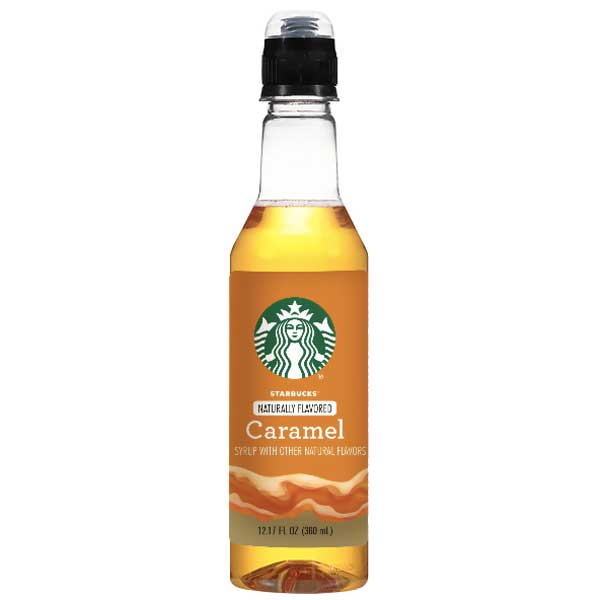 Starbucks Caramel Coffee Syrup Bottle 12.17 fl. oz - Water Butlers