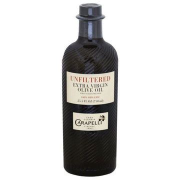 Carapelli Unfiltered Organic Extra Virgin Olive Oil, 25.5 fl oz