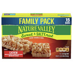 Nature Valley Granola Bars, Sweet & Salty Nut, Cashew, 15 Ct - Water Butlers
