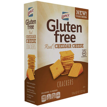 Lance Gluten Free Cheddar Cheese Baked Crackers, 5 Oz
