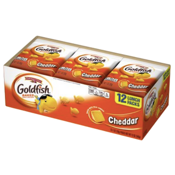 Cheddar Goldfish Crackers, 12 Ct