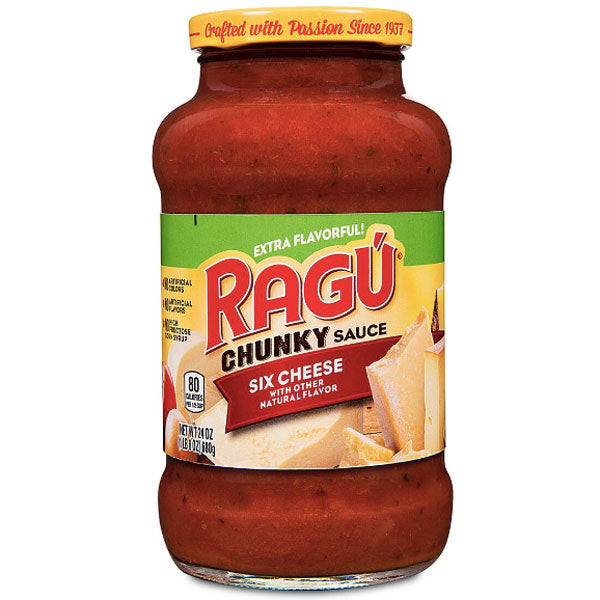 Ragú Cheese Creations Six Cheese Pasta Sauce, 24 oz. - Water Butlers