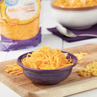 Great Value Shredded Mild Cheddar Cheese, 8 oz - Water Butlers