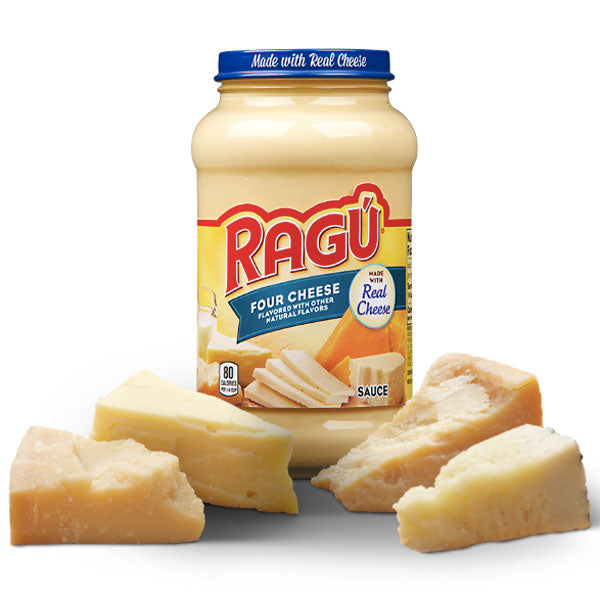 Ragú Four Cheese Sauce, 16 oz. - Water Butlers