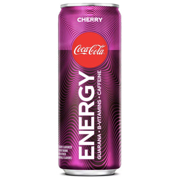Coca-Cola Energy Cherry Coke, 12 fl oz