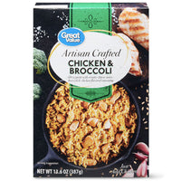 Great Value Artisan Crafted Chicken & Broccoli Skillet Meal, 13.6 oz - Water Butlers