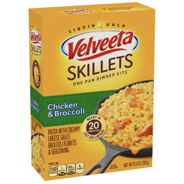 Velveeta Skillets Ultimate Chicken & Broccoli Dinner Kit, 13.6 oz