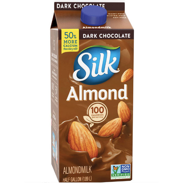 Silk Dark Chocolate Almondmilk, 0.5gal - Water Butlers