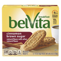 BelVita Breakfast Biscuits, Cinnamon Brown Sugar, 5 Ct