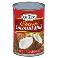 Grace Classic Coconut Milk, 13.53 fl oz - Water Butlers