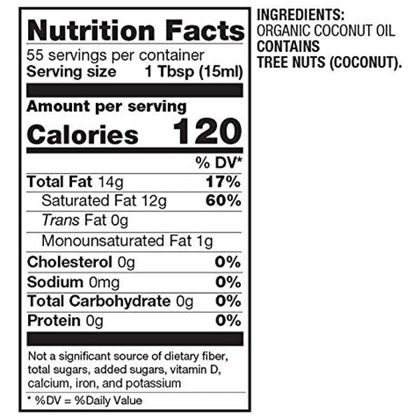 Betterbody Foods Refined Organic Coconut Oil 28 Fl Oz Water Butlers
