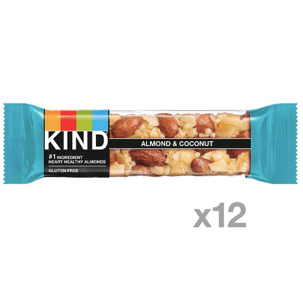KIND Protein Bars, Almond & Coconut, 12 Ct - Water Butlers