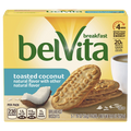 BelVita Breakfast Biscuits, Toasted Coconut, 5 Ct