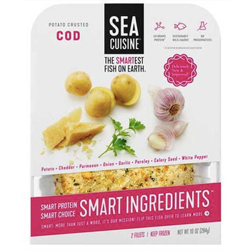 Sea Cuisine Cod, Potato Crusted Fillets, 10 oz