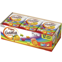 Goldfish Colors Crackers, 12 Ct - Water Butlers