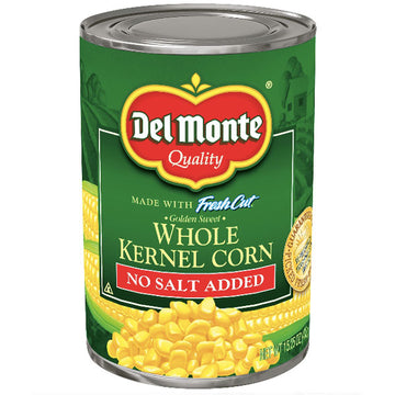 Del Monte Whole Kernel Corn, 15.25 Oz