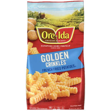 Ore-Ida Golden Crinkles Fries, 32 oz