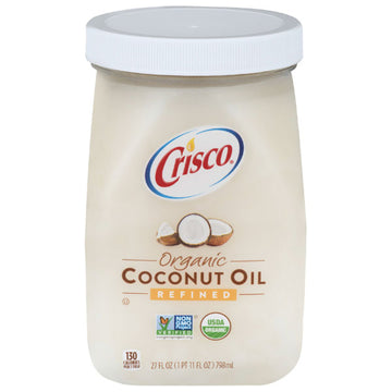 Crisco Organic Refined Coconut Oil, 27 fl oz