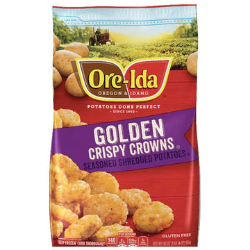 Ore-Ida Golden Crispy Crowns, 30 oz