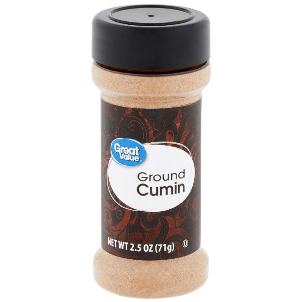 Great Value Ground Cumin Seasoning, 2.5 oz - Water Butlers