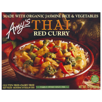 Amy's Thai Red Curry Tofu, Dairy and Gluten Free, Vegan, 10 oz