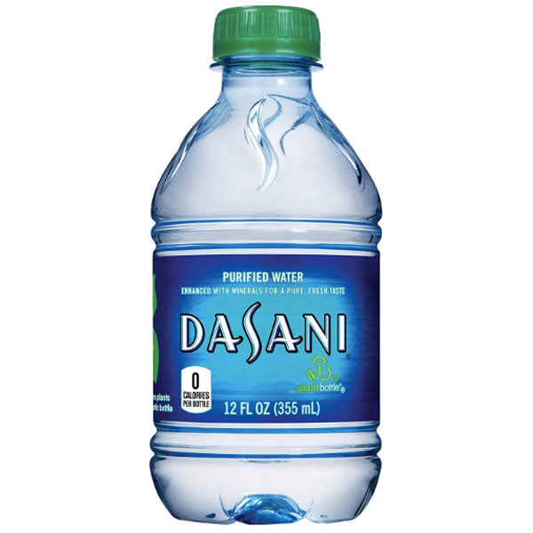 Dasani Purified Water, 12 Fl. Oz., 8 Count - Water Butlers