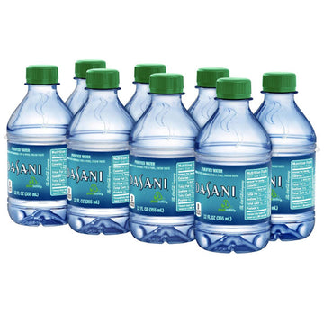 Dasani Purified Water, 12 Fl. Oz., 8 Count