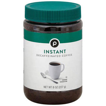 Publix Instant Decaffeinated Coffee, 8 oz.