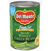 Del Monte Whole Green Beans, 14.5 Oz - Water Butlers