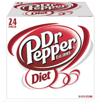 Diet Dr Pepper Soda, 24 Count - Water Butlers