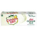 Canada Dry Diet Ginger Ale, 12 Count