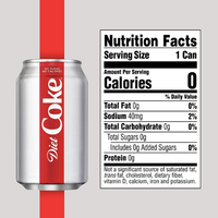 Diet Coca-Cola 12 fl oz Coke, 12 Pack - Water Butlers