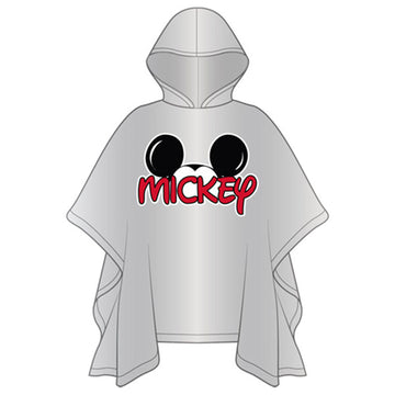 Disney Adult Mickey Family Rain Poncho