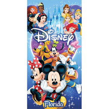 Disney Bath and Beach Towel