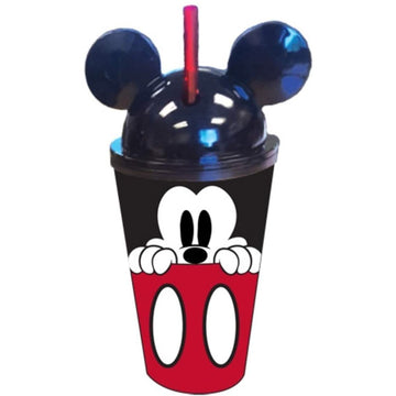 Disney Mickey Mouse Buttons Ear Tumbler, 16 Ounce
