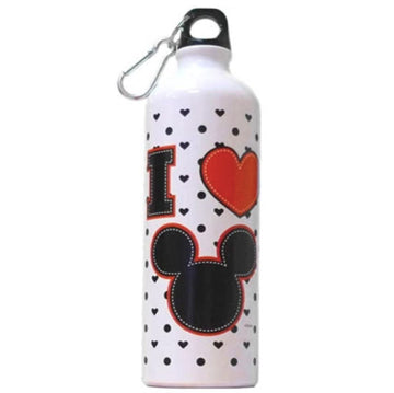 Disney Mickey Heart Aluminum Water Bottle