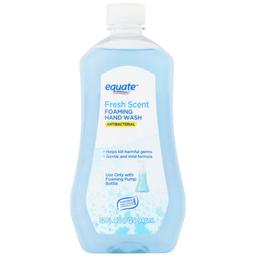 Equate Antibacterial Fresh Scent Foaming Hand Wash, 32 fl oz