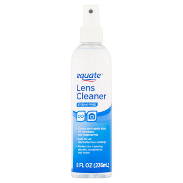 Equate Streak Free Lens Cleaner, 8 fl oz.