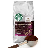 Starbucks Espresso Dark Roast Ground Coffee, 12 oz - Water Butlers