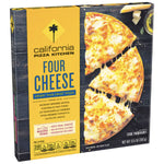 California Pizza Kitchen Crispy Thin Crust Four Cheese Frozen Pizza, 13.5 oz - Water Butlers