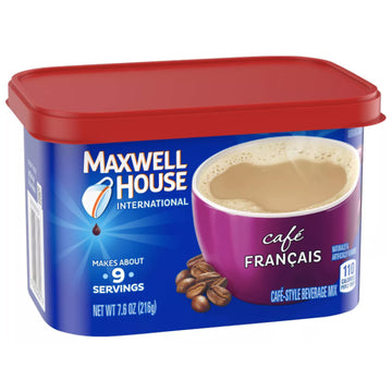 Maxwell House Café Francais Cafe Mix Coffee, 7.6 oz