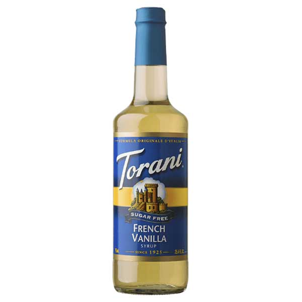 Torani French Vanilla Syrup, 12.7 oz - Water Butlers