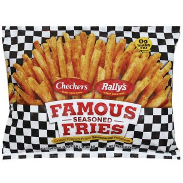 Checkers Rally's Famous Seasoned Fries, 48 oz