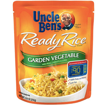 Uncle Ben's Ready Rice, Garden Vegetable, 8.8oz
