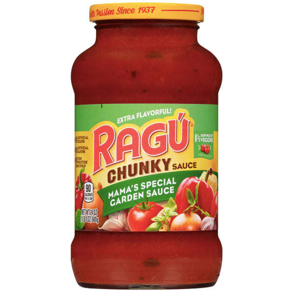 Ragú Mama's Special Garden Sauce, 24 oz. - Water Butlers