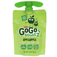 GoGo squeeZ Applesauce Apple 3.2oz, 4 Ct - Water Butlers