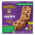 Annie's Organic Chewy Chocolate Chip Granola Bars, 6 Ct